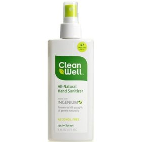 Cleanwell Hand Sanitizer Product Review Greener Healthier Living